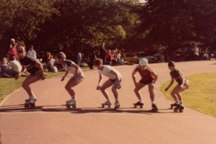 Roller Speed Skating 1984 Tatem Park